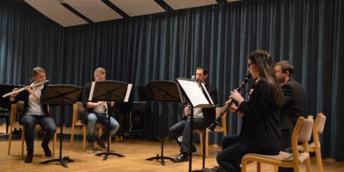 Wood Five beim Ensembletreffen 2017