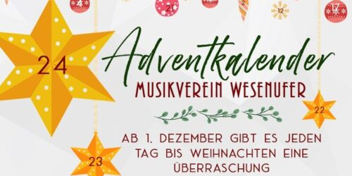 Adventkalender des MV Wesenufer
